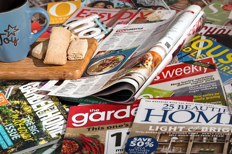 magazines messy