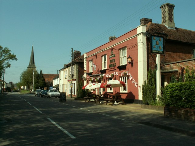 'Five_Bells'_inn,_Great_Cornard,_Suffolk_-_geograph.org.uk_-_168721