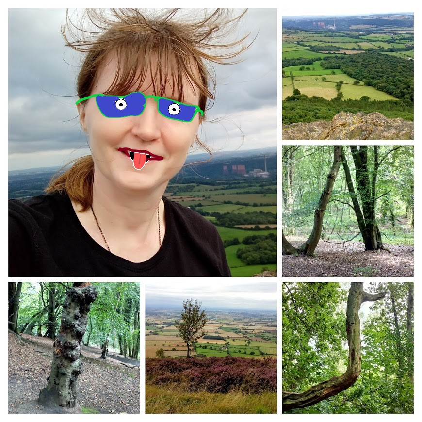 wrekin tree collage
